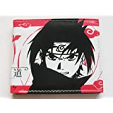 TV Animation Naruto Sasuke Red Color Wallet #2
