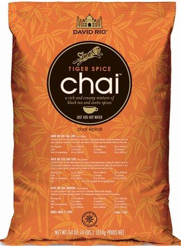 David Rio Tiger Spice Chai Tea Mix - 4 lb Poly BagB001D652VM