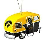 Team Sports America Metal Iowa Hawkeyes Camper Ornament