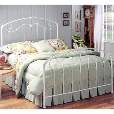 Hillsdale Furniture 325BK Maddie Bed Set, King, Glossy White