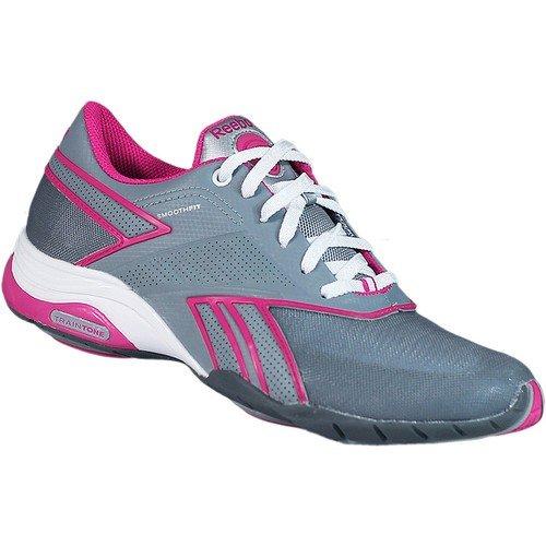 Reebok Traintone Anthlin Fitnessschuhe Sneaker grau/pink