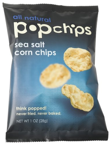 Buy Popchips Sea Salt Corn Chips, 1.0 Ounce Bags (Pack of 36) (Popchips, Health & Personal Care, Products, Food & Snacks, Snacks Cookies & Candy, Snack Food, Chips)