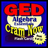GED Prep Test ALGEBRA REVIEW Flash Cards
