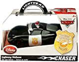 Disney / Pixar CARS Movie Exclusive 1:43 Die Cast Car Lightning McQueen Police [Chase Edition]