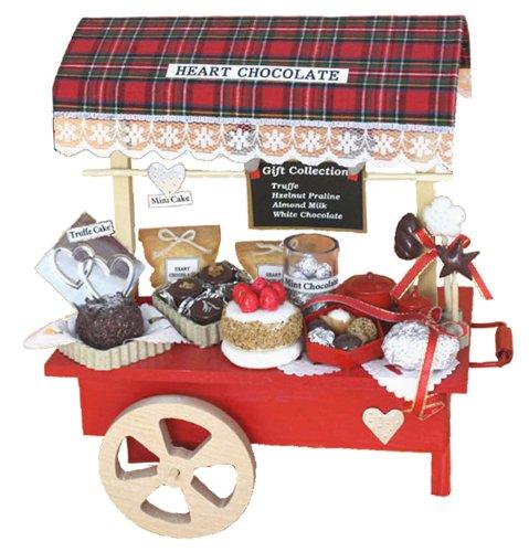 Billy handmade Dollhouse Kit Kit wagon shop chocolate shops 8698