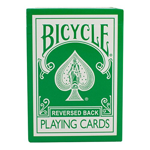Green Bicycle Deck - Reversed Back (2nd Generation) - 1