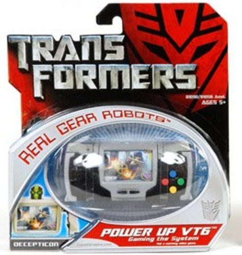 Transformers Real Gear Robots Power Up VT6 (Transformers Gears compare prices)