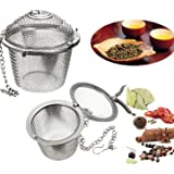 Generic Stainless Steel Spice Tea Filter Herbs Locking Infuser Mesh Ball