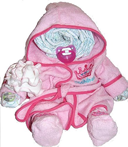 Create-A-Gift Girl Bath Time Diaper Darling - 1