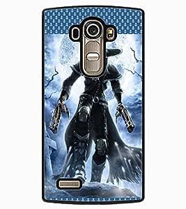 ColourCraft Warrior Design Back Case Cover for LG G4