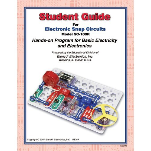 Snap Circuits Jr. SC-100 with Student & Teacher Guides