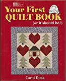 Your First Quilt Book: (or it should be!)