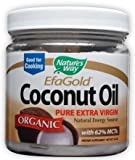 Nature's Way Organic Extra Virgin Coconut Oil, 16 Ounce (Value Pack of 3)