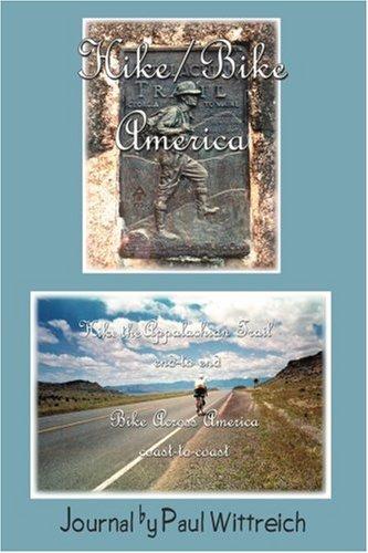 徒步旅行/自行车美国: 徒步旅行 Coast-To-Coast 美国阿帕拉契小径端到端的自行车跨