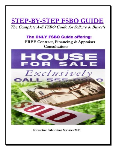 Step-By-Step FSBO Guide e-book w/FREE Consultation services!