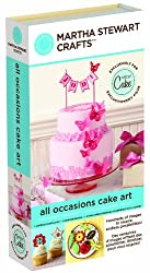 Cricut Martha Stewart Crafts Cartridge, All Occasions Cake Art