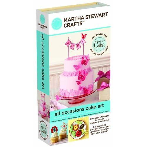 Amazon.com: Cricut Martha Stewart Crafts Cartridge, All Occasions Cake