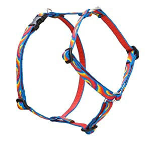 Lupine Lollipop Roman Harness for Small Dogs, 12 to 20-Inch