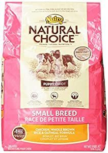 NATURAL CHOICE Small Breed Puppy Chicken, Whole Brown Rice and Oatmeal Formula - 8 lbs. (3.63 kg)