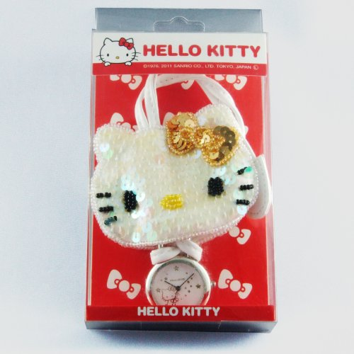 HELLO KITTY Bagcharm Watch ( Hello Kitty バッグチャームウォッチ ) analog HKY-4070-GD