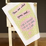 Catherine Colebrook 'You Are What You Eat' Tea Towel