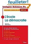 L'�cole, La d�mocratie - Concours com...