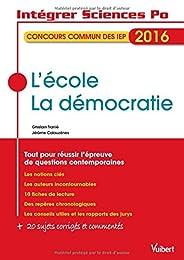 L' école, la démocratie