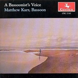 A Basoonist's Voice