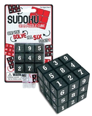Sudoku On A Puzzle Cube