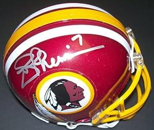 Joe Theismann Autographed Hand Signed Washington Redskins mini Helmet by Real Deal Memorabilia