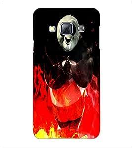 Printdhaba Panda D-4386 Back Case Cover For Samsung Galaxy A3