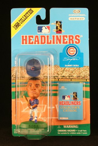 SAMMY SOSA / CHICAGO CUBS * 3 INCH * 1998 MLB Headliners Baseball Collector Figure