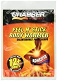 Grabber Warmers Grabber 12+ Hours Peel N Stick Body Warmer, 40-Count