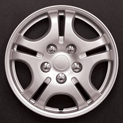 "HS (45344) 13"" Premium Quality Hubcap, (Pack of 4)"