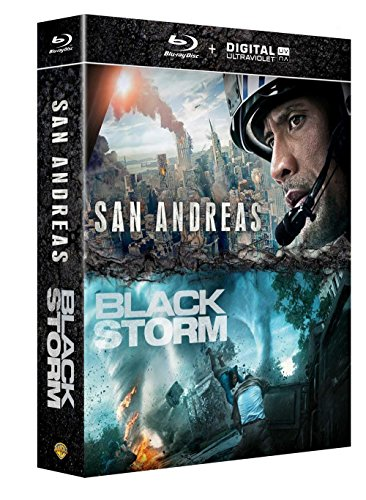 San Andreas + Black Storm [Blu-ray + Copie digitale]