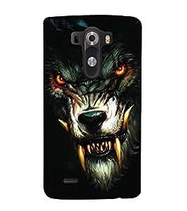 FEROCIOUS LION Designer Back Case Cover for LG G3::LG G3 D855