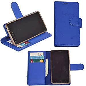 R&A Pu Leather Wallet Flip Case Cover With Card & ID Slots & Magnetic Closure For Sony Xperia Z1