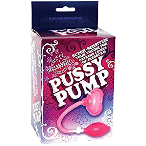 Doc Johnson Pussy Pump Pink Vaginal Pump