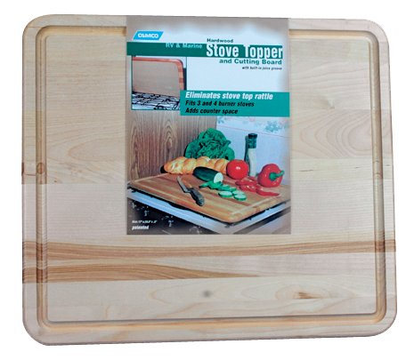 Camco 43753 RV Stoveaway Topper Cutting Board