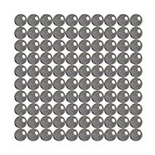 100 1/2 inch Diameter Chrome Steel Bearing Balls G25 Ball Bearings VXB Brand