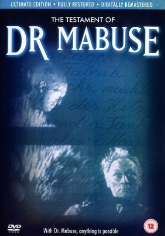 The Testament Of Dr. Mabuse [UK Import]