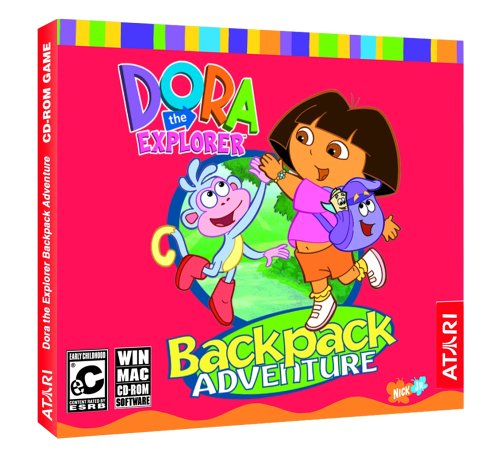 Dora the Explorer: Back Pack Adventure (Jewel Case)