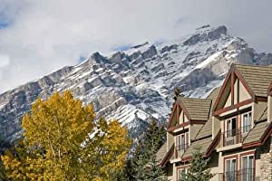 Sky Wall Decals Canadian Rocky Mountains - 30 inches x 20 inches - Peel and Stick Removable Graphic