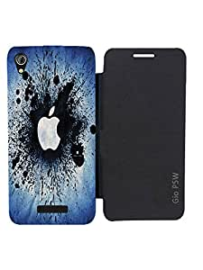TREECASE Designer Printed Flip Flap Diary Wallet Case Cover For Gionee Pioneer P5W