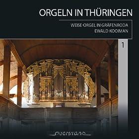 Orgeln in Thüringen Vol. 1: Weise-Orgel Graefenroda