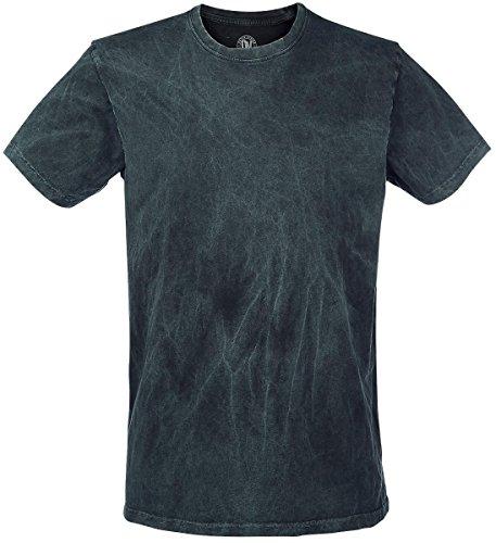 Outer Vision Vintage T-Shirt verde acqua XL