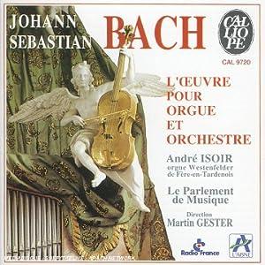 Werke für Orgel und Orchester