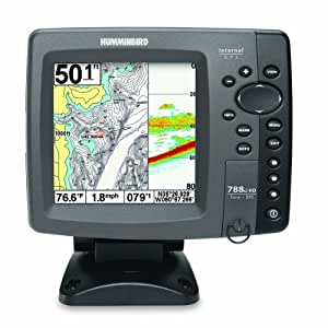 Humminbird 788ci hd combo cho fishfinder and for Phone fish finder