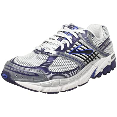 Brooks Men's Beast Running Shoe,Kodiak/Midnight Blue/White/Silver/Black,8 D(M) US