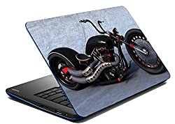 meSleep Chopper Bike Laptop Skin